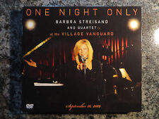 Barbra Streisand and Quartet At The Vanguard CD and DVD 2010  Columbia