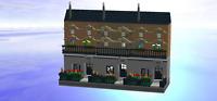 12 Grimmauld Place Lego MOC Harry Potter