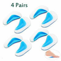 8 pcs Orthopedic Arch Support Insole Flatfoot Correction Shoe Solicone Insole