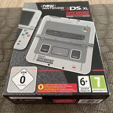 New Nintendo 3ds xl SNES Edition