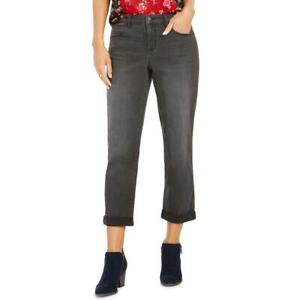 Style & Co. Womens Denim Ankle Curvy Boyfriend Jeans BHFO 9330