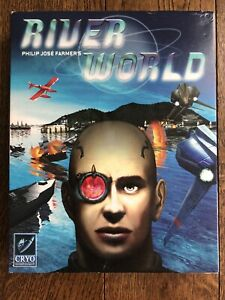 River World PC Strategy Game (Cryo, 2001) Big Box Complete