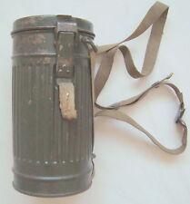 Seltene Gasmaske mit Büchse frühe Wehrmacht 1936 2.WK 2.WW