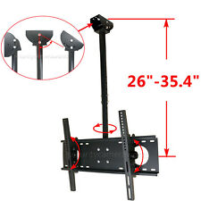 "LCD LED Plasma Tilt TV Ceiling Mount 39 40 42 43 46 47 48 50 55 60 65"" HDTV brr"