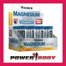 Weider - Magnesium Liquid, Exotic-Orange - 20 x 25 ml.