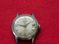 Vintage Gruen Precision 17 Jewels Wind Up Mens Watch. No Band. Works Well.