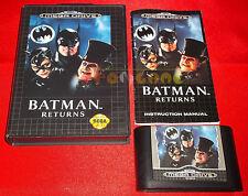 BATMAN RETURNS Sega Mega Drive MegaDrive Versione Inglese PAL ○ COMPLETO - BB
