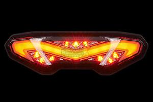 LED SMOKE Integrated Blinker Taillight 2014-2018 YAMAHA FZ-09 MT-09 MT-10 14-20