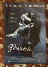 Whitney Houston The Bodyguard original movie poster from 1992 Kevin Costner