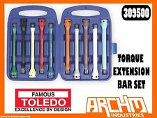 TOLEDO 309500 - TORQUE EXTENSION BAR SET - 10 PIECE SET WHEEL NUTS BOLTS TENSION