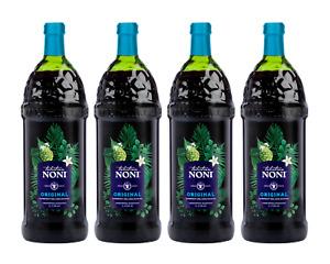 Tahitian Noni Juice by Morinda Inc. (4 bottle case) *NEW LOOK!* SALE PRICE!