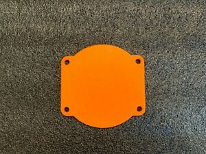 Chevy LS Engine 102mm Throttle Body Cover / Block Off Plate (Orange)