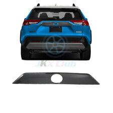 For Toyota RAV4 2019-2020 Carbon fiber Style Rear Trunk Lid Molding Frame o Trim
