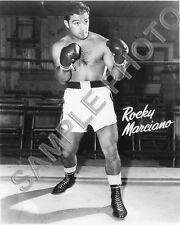 ROCKY MARCIANO BOXING 8x10 PHOTO