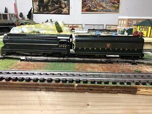 American Models S Gauge PRR K-4 4-6-2 Torpedo Locomotive DC Green American Flyer