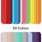Silicone Band Strap for Apple Watch Sports Series 6 5 4 3 2 1 SE 38/40/42/44mm <br/> ✅50 Colors ✅38/40 ✅42/44 ✅S/M ✅M/L ✅BUY 1 GET 1 20% OFF