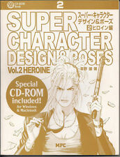Heroine Vol. 2 by You Kusano (2004, Paperback) Super Character Design & Poses