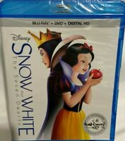 Snow White and the Seven Dwarfs  Blu-ray, DVD, Digital, Adriana Caselotti