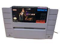 Phalanx (Super Nintendo Entertainment System SNES, 1992) Authentic Tested Cart