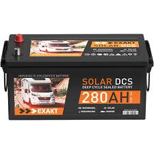 Exakt 280Ah C100 12V Solarbatterie (EXD280)