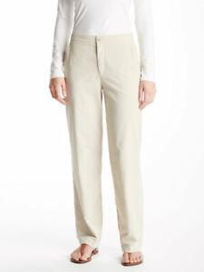 Solumbra® by Sun Precautions® Women's Flat Front Pants 100+ SPF Light Beige 16