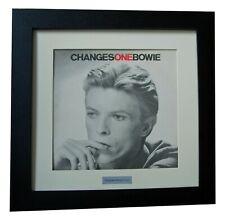 DAVID BOWIE+CHANGES ONE+Album+LP+Art+GALLERY QUALITY FRAMED+EXPRESS GLOBAL SHIP