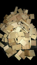 New! 50 Small to Large Natural Wood Assorted Blocks Bird Chews- Crafts- No Hole