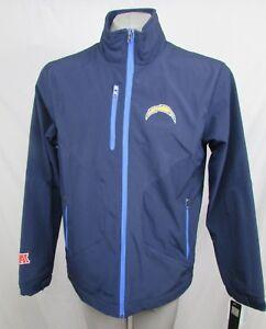 Los Angeles Chargers Men's M Full Zip Softshell Jacket Navy G-III NFL