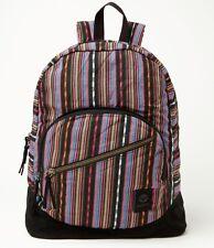 Roxy Long Time Backpack School Book Bag Girls NEW NWT