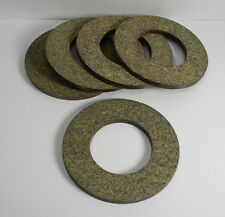"(5) Washing Machine Brake Lining 3.50"" Od, 1.85"" Id, 0.19 Thick Lot of 5"