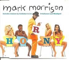 Mark Morrison Horny Cd1 4 Track Remixes CD Single