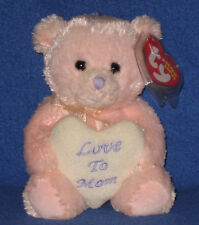TY MOM the BEAR 2007 BEANIE BABY - MINT TY STORE EXCLUS