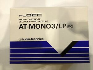 Audio-Technica AT-Mono3/LP Mono Moving Coil Cartridge , made in Japan