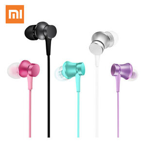 Original Xiaomi Mi In-Ear Piston Earphones Fresh Version Headphones 3.5mm