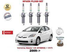 FOR TOYOTA PRIUS 1.8 HYBRID 2009-  NEW ENGINE 4 X IRIDIUM SPARK PLUG SET