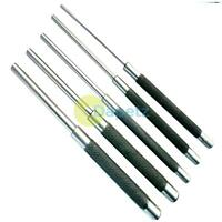 "Parallel Pin Punch Set 5pc x 8"" Long, Drift, Roll, Nail, Steel 1/8""- 3/8"" 3-10mm"