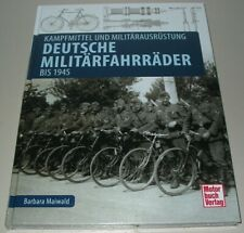 Deutsche Militär Fahrräder Kampfmittel Ausrüstung Wehrmacht Buch Reichswehr NEU!