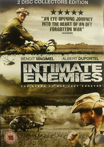 Intimate Enemies DVD French War Movie 2007 - ENGLISH SUBTITLES - RARE - Region 2