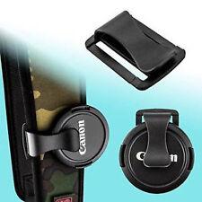 Tapa Cámara Lente S-Clip de cuello correa cinturón Keeper Universal U-Clip vendedor del Reino Unido