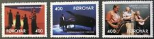 10th anniversary of Nordic house stamps, 1993, Faroe Islands, SG ref: 235-237
