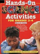 Hands-On Science Activities for Grades 3-4: Science Curriculum-ExLibrary