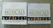 MUSICALS. Latest And Greatest. 3 CD Box Set. Excellent Condition.
