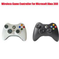 For Microsoft Xbox 360 Dual Shock Gamepad Wireless Game Controller Black & White