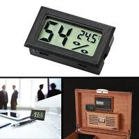 Mini Digital LCD Indoor Thermometer Hygrometer Humidity Gauge Temperature Meter