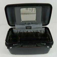 Samsonite Vintage Makeup Case Tray Silhouette 5 Blue Vanity Case USA