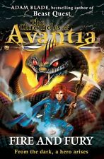 The Chronicles of Avantia: Fire and Fury: Book 4,Adam Blade
