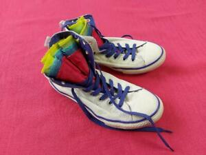 Juniors Converse All Stars Chuck Taylor White High Top Trainer Shoe UK 5  EUR 38