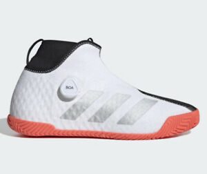 Adidas Stycon BOA Tennis Shoes FU7933 Men's US 10 White Black NEW $165