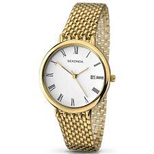 Sekonda Yellow Gold Plated Mens Watch 3683