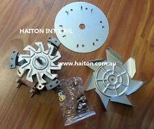 Universal Oven Fan Motor&Blade  3 Shaft Lengths-Front & Rear Mount